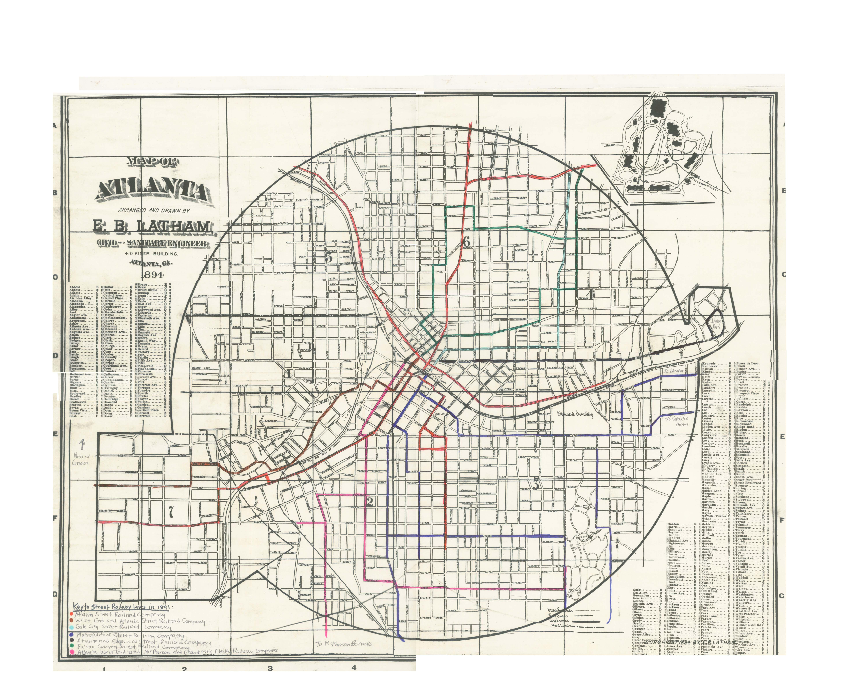the development and consolidation of atlanta s street railways