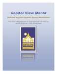 Capitol View Manor by Erica Duvic, Meg Hammock, Justin Hutchcraft, Thomas Lee, Merribel McKeever, and Holly Schwarzmann