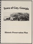 Town of Gay, Georgia Historic Preservation Plan