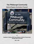 Pittsburgh Community by Chad Carlson, Sylvia Cleveland, Laura Drummond, Terri Gillett, Jason Hall, Sania Hanafi, Heather Lucas, Penny Luck, Bourke Reeve, and Sharman Southall